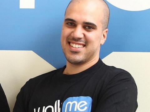 Walkme CEO Dan Adika.