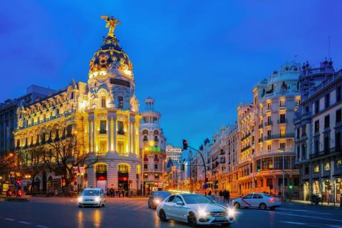 38. Madrid, Spain