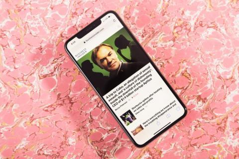El iPhone XS Max.