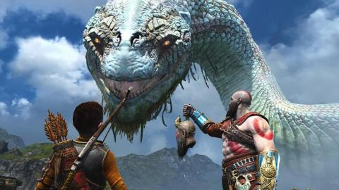 """God of War"" de PlayStation 4."