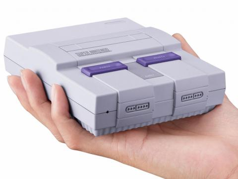 2. The Super NES Classic Edition — a miniaturized version of the original Super Nintendo Entertainment System (SNES).