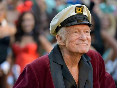 7. Hugh Hefner — $15 million