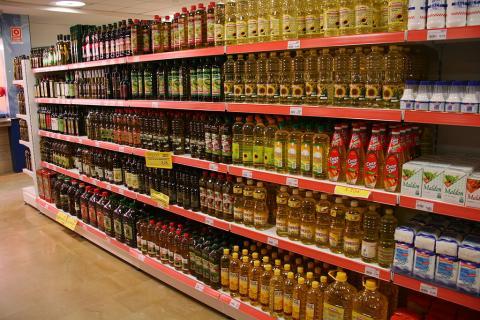 aceite en supermercado