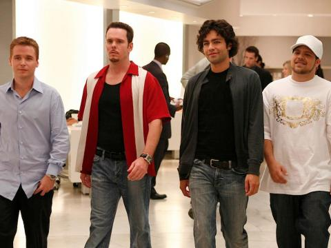 """Actor Mark Wahlberg's rise to fame inspired """"Entourage."""""""