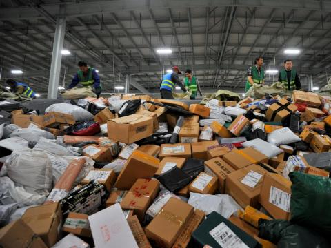 And more than twice as much product is sold just on Singles' Day than during the five-day period spanning Thanksgiving, Black Friday, and Cyber Monday.