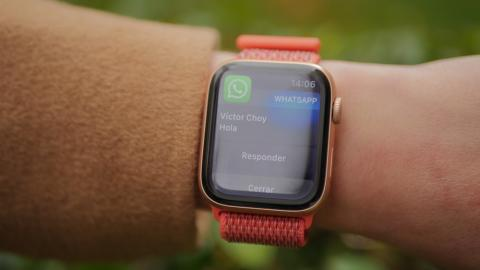 Notificaciones de WhatsApp en el Apple Watch Series 4