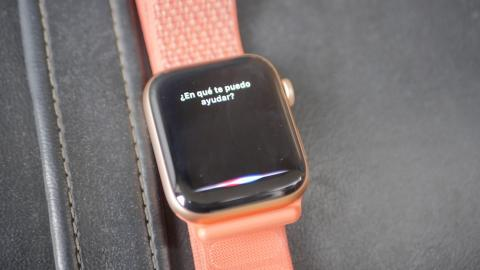 Siri en el Apple Watch Series 4