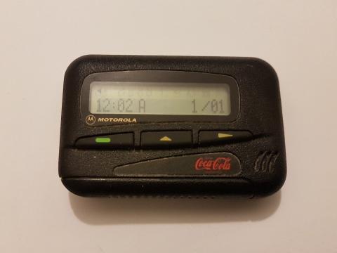 El 'beeper' de Coca Cola fue uno de los buscas más conocidos y populares