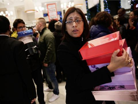... Boxing Day is also still a huge shopping day in the UK.