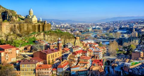 La capital de Georgia, Tiflis