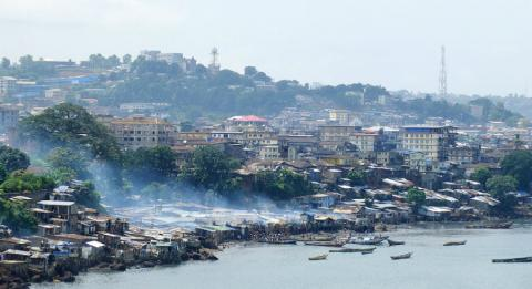 La capital de Sierra Leona, Freetown