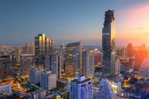La capital tailandesa, Bangkok