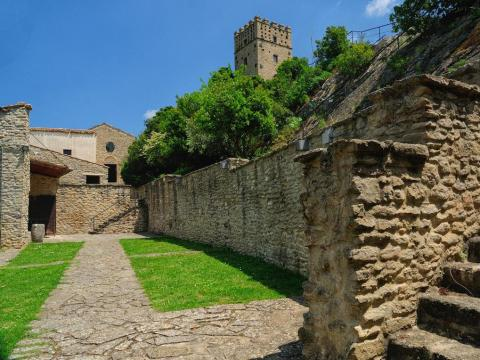 Los terrenos del castillo abarcan más de 696 metros cuadrados.