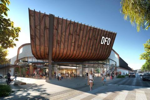 Centro comercial DFO en Perth (Australia), propiedad de Vicinity Centres
