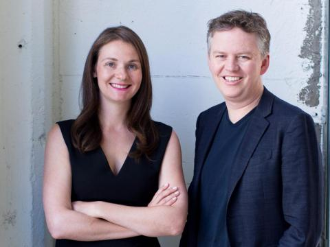 CloudFlare founders Michelle Zatlyn and Matthew Prince