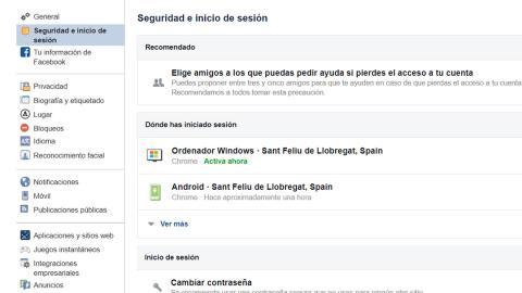 Cómo saber si alguien ha entrado en tu cuenta de Facebook