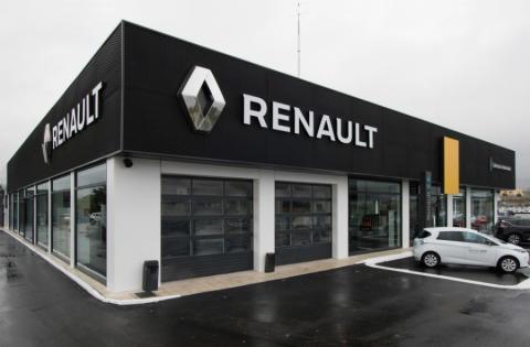 Concesionario de Renault España