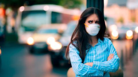Aire sucio ciudad