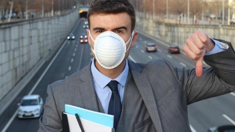 Contaminación máscara