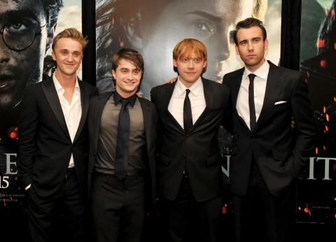 """Daniel Radcliffe is among the shortest of the """"Harry Potter"""" group at 5 feet 5 inches tall."""