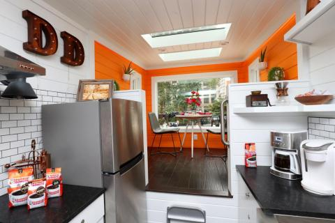 The 275-square-foot structure — which includes a full kitchen — was formerly available for rent for just $10 a night.