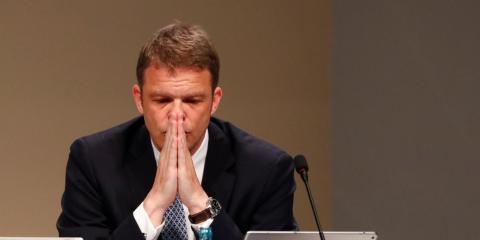 El CEO de Deutsche Bank, Christian Sewing [RE]