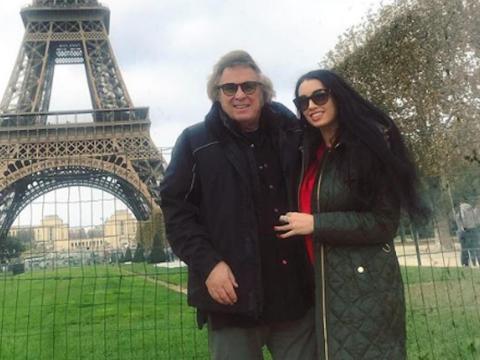 Don McLean y Paris Dylan en su Instagram.