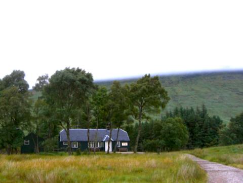 Eco albergue en Escocia