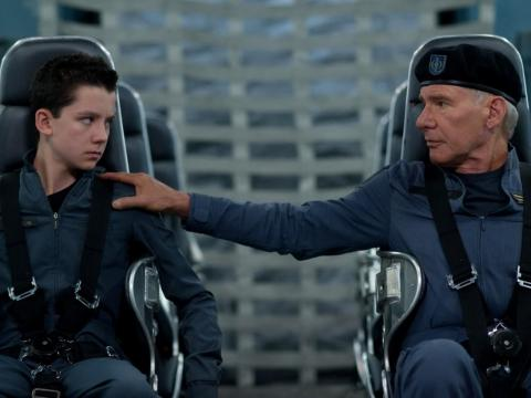"""Ender's Game"" was considered a box office flop."