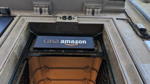 Entrada Casa Amazon