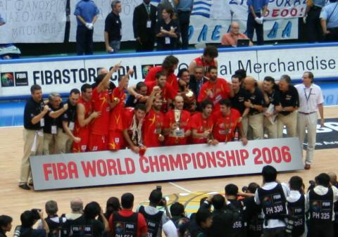 España celebra el Mundial de 2006
