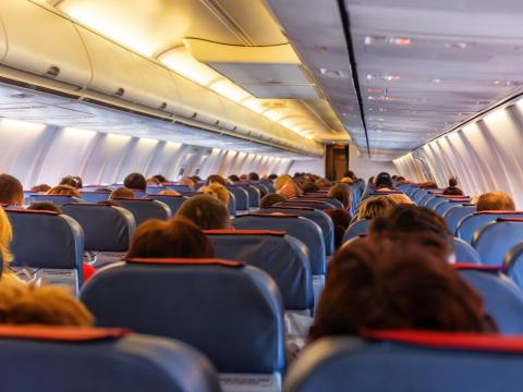 If you'd rather avoid in-flight medication, visualization practices can center your thoughts and keep you relaxed and positive.