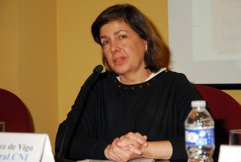 La ex secretaria general del CNI,Beatriz Méndez de Vigo.