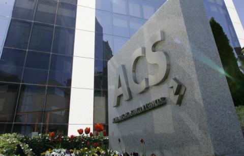 Fachada de la sede de ACS