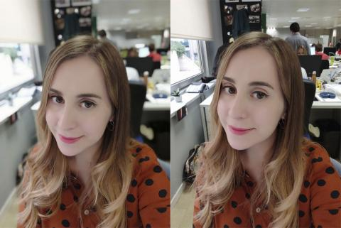 Foto selfie con el Xiaomi Mi 8 Pro