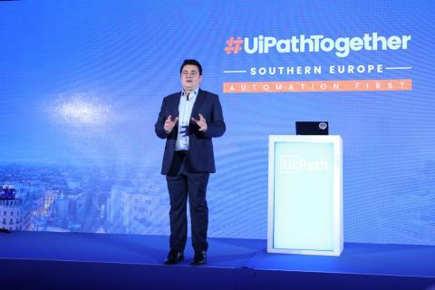 Franck Lopez, vicepresidente de ventas de UiPath