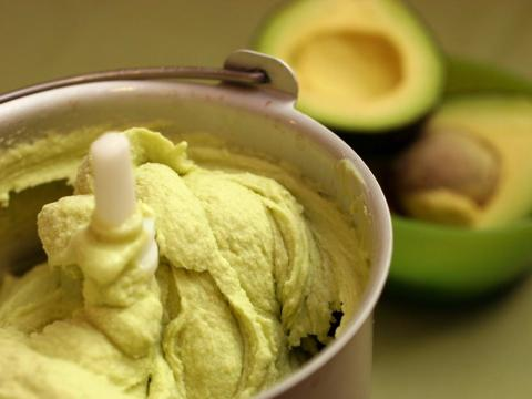 He's not big on dessert either — for him, avocado ice cream is a special treat.