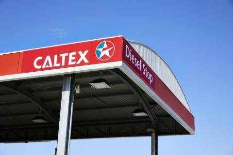 Una gasolinera de Caltex Australia