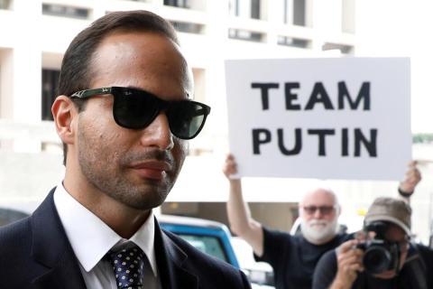 Former Trump campaign aide George Papadopoulos.