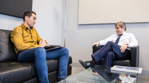 Gerardo Mariñas conversa con Manuel del Campo, CEO de Axel Springer España y autor de la entrevista