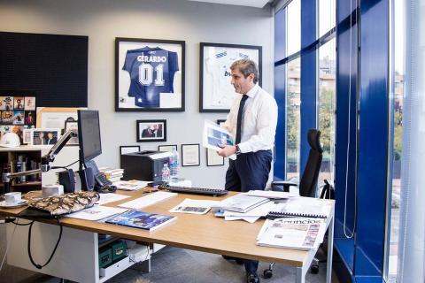 Gerardo Mariñas, en su despacho en Madrid