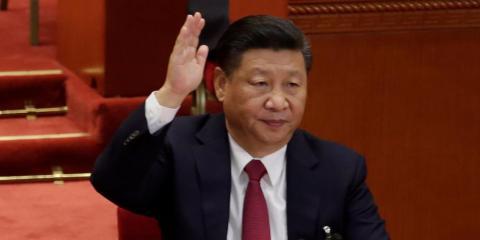 Xi Jinping in Beijing in October 2017.