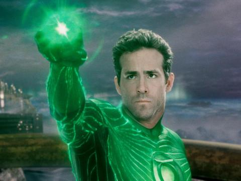 """The Green Lantern"" was so bad even Ryan Reynolds said he regrets it."