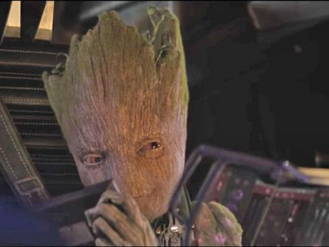 He's one of the people behind Groot.
