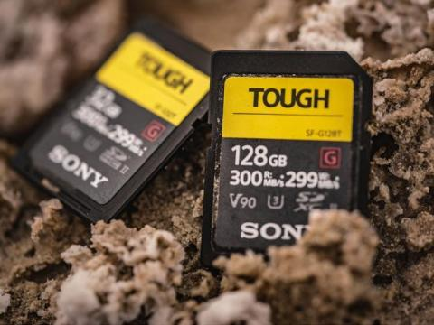 Indestructible memory cards
