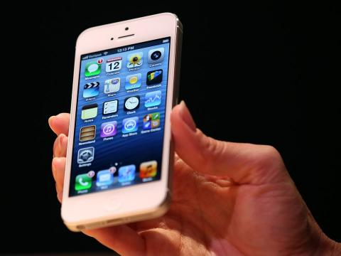 El iPhone 5S.