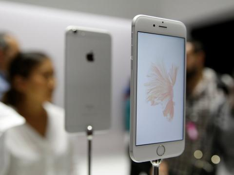El iPhone 6S.