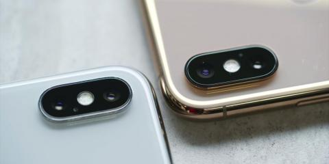 The iPhone XS has a slightly more advanced camera.