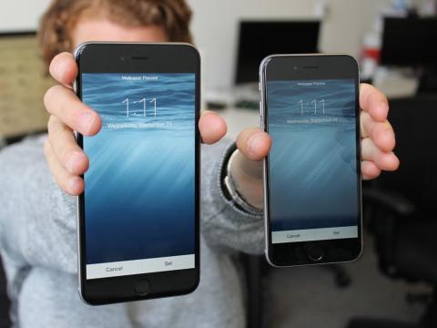 El iPhone 6 y el iPhone 6 Plus.