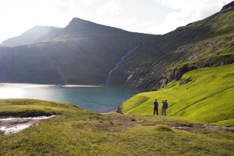 Islas Feroe, Escocia